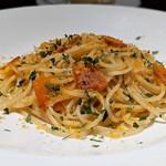 104319803 - サルデーニャ産ポッタルガのスパゲッティ