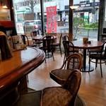 レストラン 味蕾亭 - 店舗のカウンター席