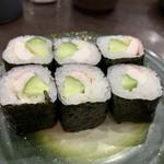 回転寿司ととぎん - エビマヨ細巻