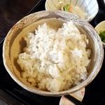 nakazatonoshounagomi - 麦飯。