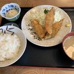 柳ばし - 料理写真:ホッケフライ定食