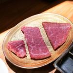 東京肉しゃぶ家 - 常陸牛シャトーブリアンしゃぶしゃぶ