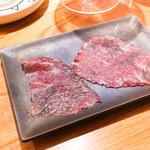 東京肉しゃぶ家 - 川岸牧場牛生プレザリオ生ハム