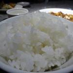 福満園 - 四川マーボー豆腐定食のライス