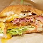 Island Burgers - ベーコンエッグチーズバーガー