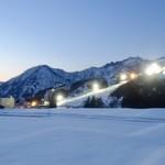 駅弁屋 上州 - [2019/02]スキー場の灯りがさらに色を添えます。
