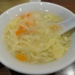 菜彩厨房 - (2019/2月)日替わりランチ定食のスープ