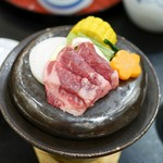 阿蘇プラザホテル - 牛陶板焼き