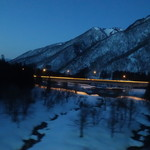 駅弁屋 上州 - [2019/02]夕闇が漆黒へと変わる頃、丁度よく関越トンネルに入ります。