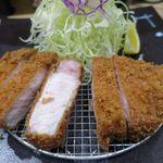 とんかつ ふる味 - 料理写真:上ロース定食