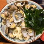 丸亀製麺 - あさりうどん 大 690円