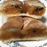 ル・パン・ド・カトウ - 田舎パン アップルとシナモンの断面