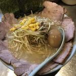 ラーメンショップ新守谷店 - 料理写真:塩ねぎチャーシューラーメン