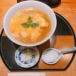 欅 くろさわ - 卵とじ蕎麦
