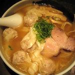 麺屋武蔵 虎嘯 - トリュフ雲呑麺 塩