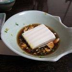 水月庵 - 湯豆腐は彼女逹も大丈夫そうで美味しそうに食べてましたよ