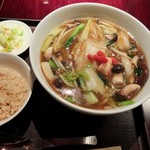 過門香 - 広東麺セット