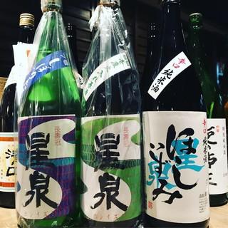 店長が日本酒好きのため。