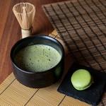 お抹茶セット(抹茶マカロン付き)