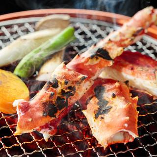 たらば蟹料理