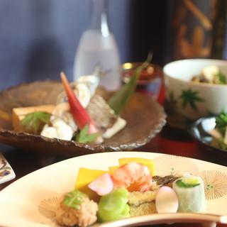 【御料理神谷】のおまかせコース
