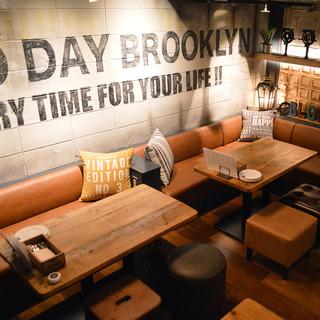 ブルックリンのカフェタイムを再現