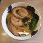 麺や 暁 - 塩大盛チャーシュー