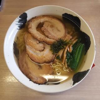麺や 暁 - 料理写真:塩大盛チャーシュー