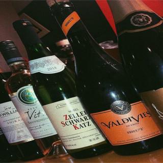 常時30種をご用意*ニーズに合わせて選べる「ワイン」で乾杯♪