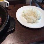 いきなりステーキ - 中ライス