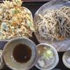 手打そば さか間 - 料理写真:かき揚げせいろ蕎麦1,100円。