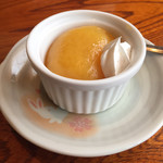 海鮮処 兄弟 - デザートのオレンジゼリー