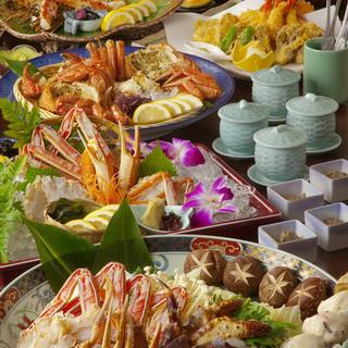 多彩な各種コースのほか、一品料理にも自信あり!!