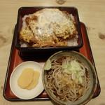 あかし庵 - 料理写真:かつ丼(上)¥950