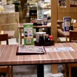 魚屋の台所 下の一色 - テーブル席