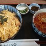 104361023 - カツ丼、ミニうどん付き(税込1,100円)