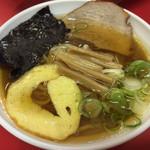 だるま軒 - ミニ醤油ラーメン