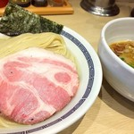 心の味製麺 - 匠美鶏の淡麗昆布水つけ麺 900円