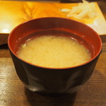 ふさ鮨 - しじみ汁