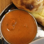 インディアンレストラン アンキットの気持ち - カレーはバターチキン選択