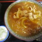 そば屋 ふさよし - 料理写真:カレー南蛮そば