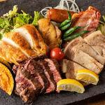 肉×チーズ×ワイン にくうお - 肉バル5種
