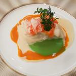 大阪新阪急ホテル - 真鯛のトマト蒸し