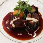大阪新阪急ホテル - 牛フィレ肉など赤ワイン煮込み