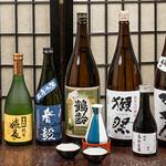 鳥かど家 - 日本酒(集合)
