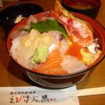 魚河岸の居酒屋 えびす大黒 - 海鮮丼もちろん500円!