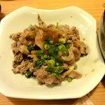 鳥貴族 - ホルモンおろしポン酢
