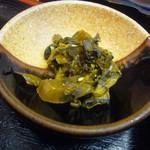天ぷら てんちゃん - 高菜漬