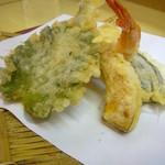 天ぷら てんちゃん - 天麩羅6種