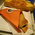 サンマルクカフェ - アップルパイ風フレンチトースト・チョコクロ
